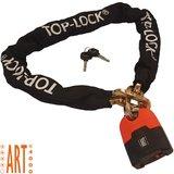 Kettingslot ART4 Top Lock 180cm met los hangslot