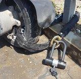 Top Lock ART 4 kettingslot 170cm loop + U-beugel hangslot