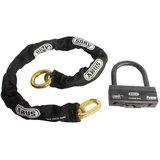 ABUS GRANIT 58 12KS Black Loop 58/140 HB100 12KS kettingslot - 120cm