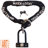 Kettingslot ART4 Maxx-Locks Tirau met loop + verlengde U-beugel - 200 cm