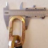 Top Lock Kettingslot ART 4 met los hangslot - 120 cm_