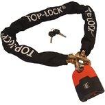 Top Lock Kettingslot ART4 met los hangslot - 150 cm