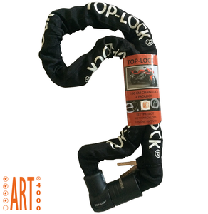Kettingslot ART4 Top Lock 150cm vaste kop